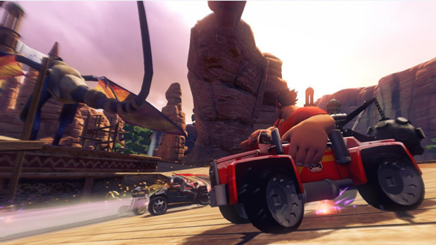 Sonic & All-Stars Racing Transformed (Foto: Divulgação)