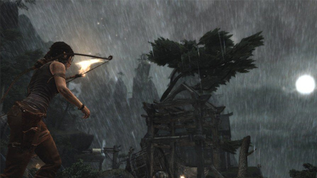 Multiplayer do novo Tomb Raider coloca amigos de Lara Croft contra nativos da ilha (Foto: The Official Xbox Magazine)