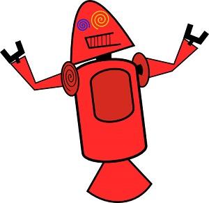 Mascote do Android era assim no início do projeto (Foto: Reprodução Google+)