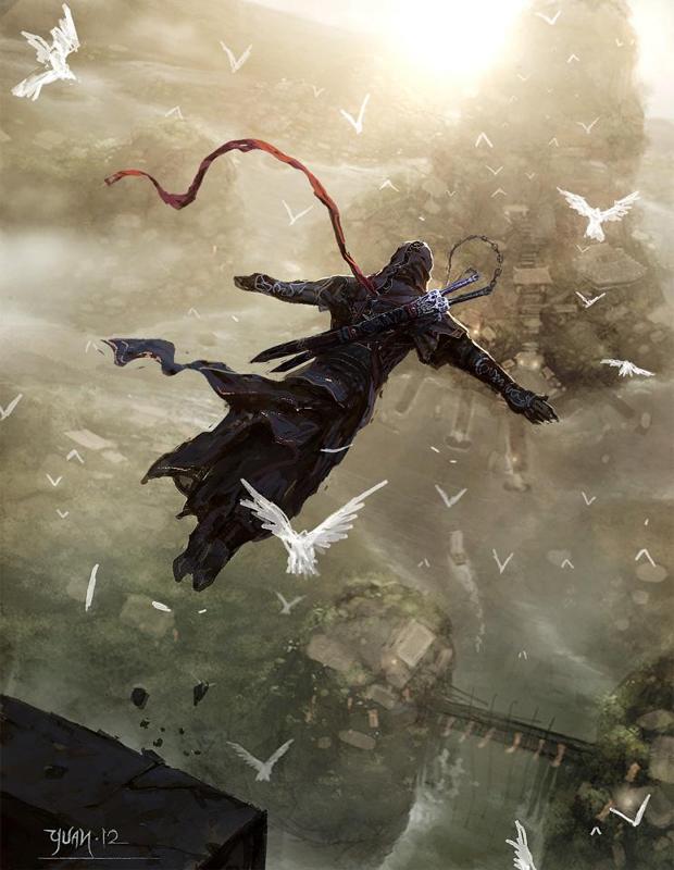 Os icônicos saltos de Assassin's Creed permaneceriam (Foto: ~ChaoyuanXu)