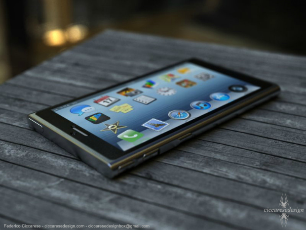 iPhone 6 já tem projeto conceitual feito por designer italiano (Foto: Reprodução Ciccares Design)