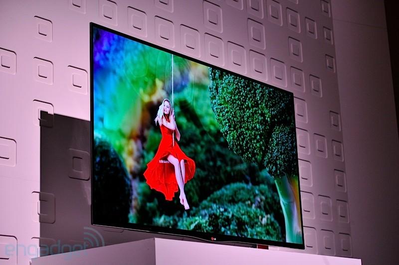 OLED TV da LG confirmada para março nos Estados Unidos (Foto: Reprodução/Engadget)
