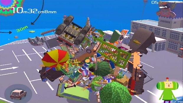Katamari Damacy unia o bizarro e divertido no PlayStation 2 (Foto: IGN) (Foto: Katamari Damacy unia o bizarro e divertido no PlayStation 2 (Foto: IGN))