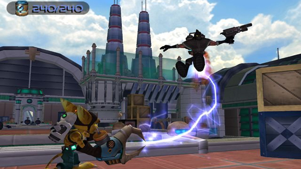 Ratchet & Clank eram como a porta de entrada para jogos de tiro mais complexos (Foto: IGN)