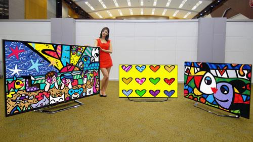 LG apresenta novos tamanhos para sua família de Ultra HD TVs (55 e 65 polegadas) (Foto: Divulgação)