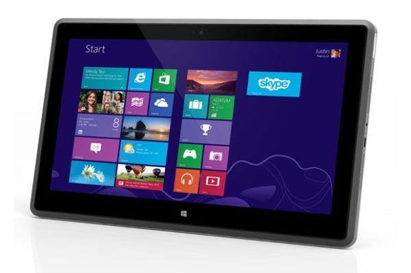 Vizio lançou tablet com processador AMD e tela Full HD (Foto: Reprodução/Engadget)