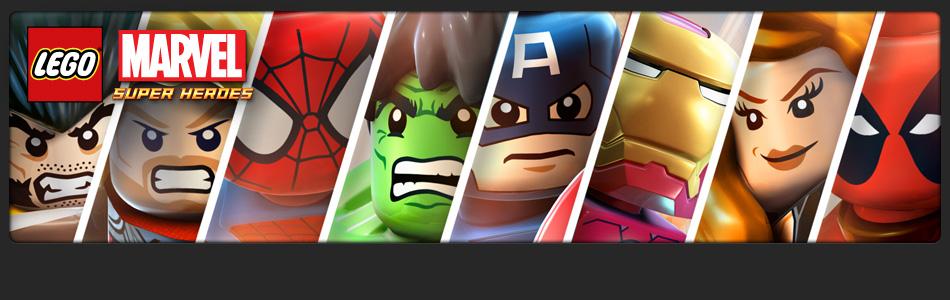 Alguns dos heróis da Marvel no jogo em versão LEGO (Foto: Divulgação)