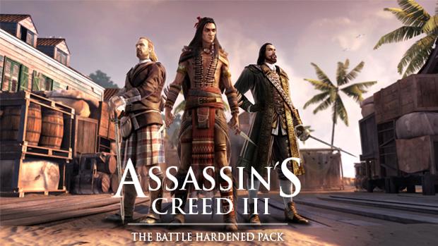 Assassin's Creed 3 ganha veteranos de guerra em DLC Battle Hardened (Foto: Divulgação)