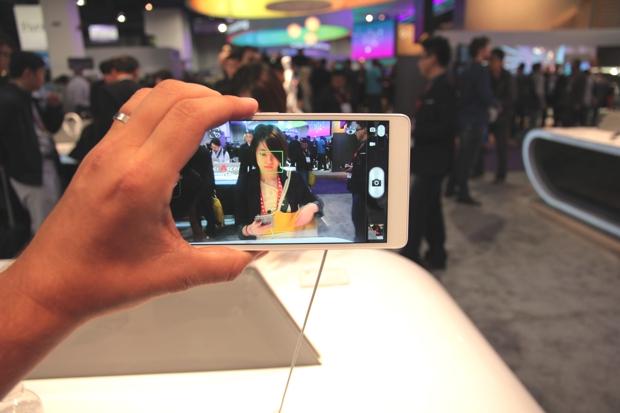 Câmera do Huawei Ascend Mate (Foto: Léo Torres / TechTudo)