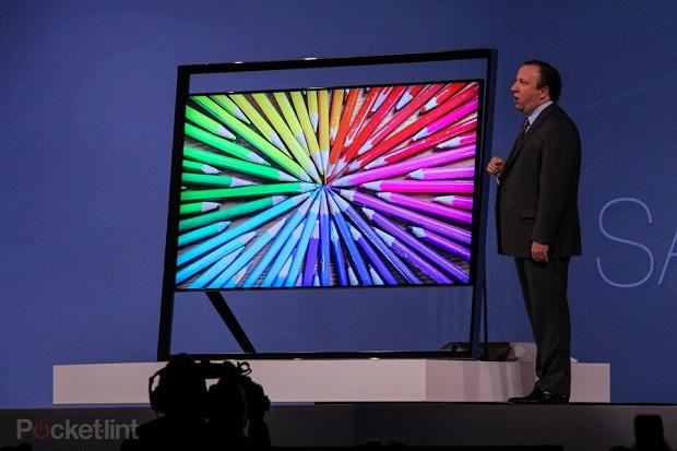 Nova TV da Samsung foi apresentada na CES (Foto: Reprodução Pocket Lint)