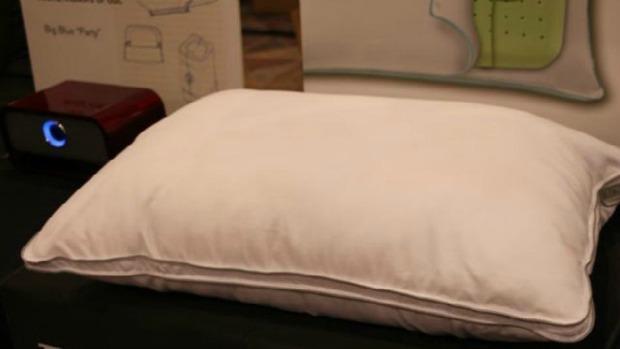 Travesseiro tem caixa de som embutida (Foto: Reprodução Mashable) (Foto: Travesseiro tem caixa de som embutida (Foto: Reprodução Mashable))