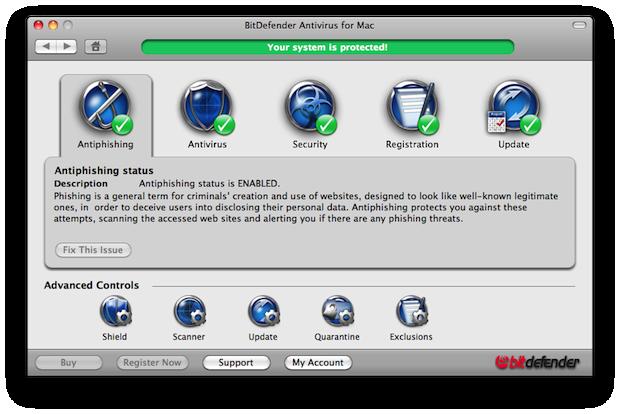 Mesmo com toda segurança do Mac, é bom ter um antivírus (Foto: Reprodução/Techdows)