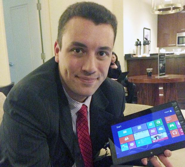 Marcel Campos, diretor da Asus no Brasil. (Foto: TechTudo / Nick Ellis)