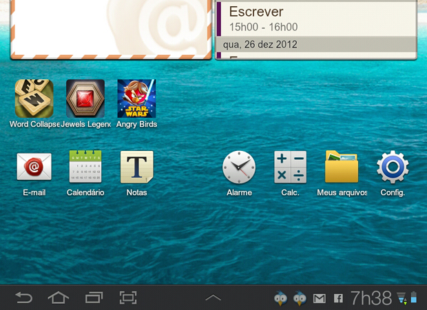 1 acessando as configuracoes android