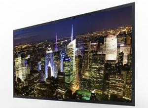 A TV OLED 4K da Sony apresenta 56 polegadas (Foto: Reprodução)