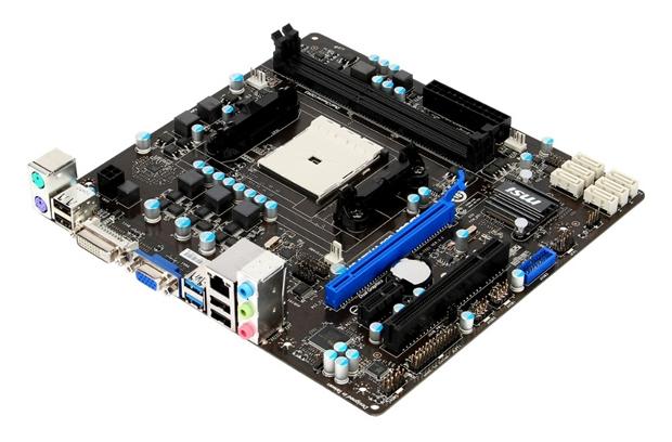 Placa micro-ATX da MSI aposta nas APUs e nas conveniências dos PCs compactos (Foto: Divulgação)