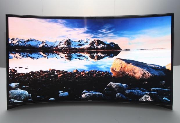 TV OLED curvada da Samsung vai chegar ao mercado ainda em 2013 (Foto: Divulgação) (Foto: TV OLED curvada da Samsung vai chegar ao mercado ainda em 2013 (Foto: Divulgação))