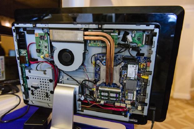 AIOs da Intel poderão ser construídos por usuários (Foto: Reprodução PC World)