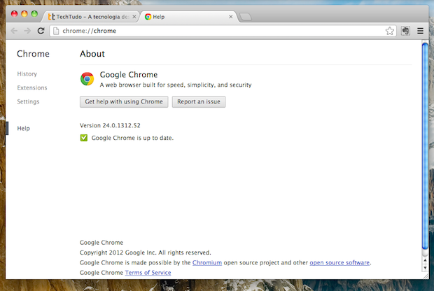 Google Chrome 24 (Foto: Reprodução)