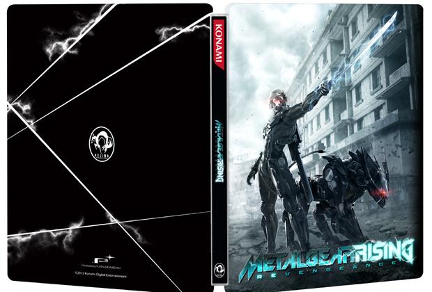 Metal Gear Rising: Revegenance em edição limitada vem em caixa metálica (Foto: Divulgação)