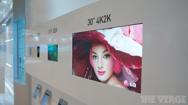 Monitor 4K da CES tem incrível densidade de pixels (Foto: Reprodução The Verge) (Foto: Monitor 4K da CES tem incrível densidade de pixels (Foto: Reprodução The Verge))