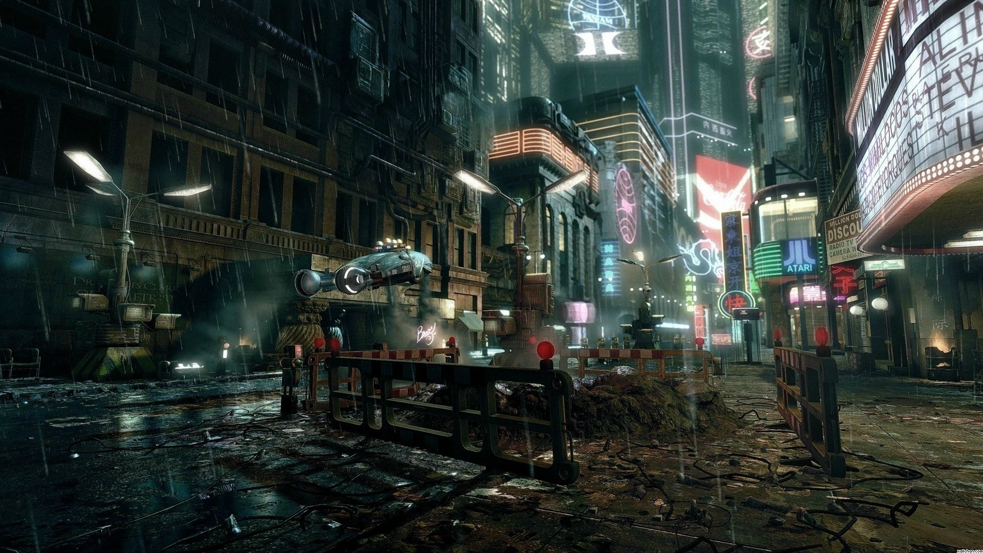 O futuro, segundo Cyberpunk 2077 (Foto: Divulgação)
