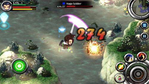 Zenonia 5 é o melhro RPG para Android atualmente (Foto: Divulgação)