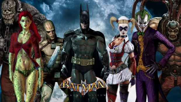 Os maiores vilões de Gotham City tornam o Asilo Arkham uma eterna bomba-relógio (Foto: xephandreema.com)-origins