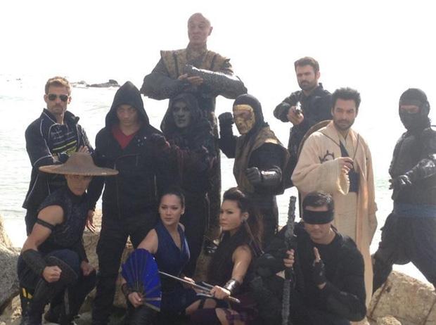 Elenco de personagens em Mortal Kombat Legacy 2 (Foto: Reprodução)