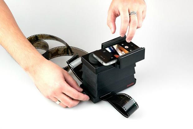 Projeto da  Lomography, empresa que está desenvolvendo um scanner de negativos para smartphones (Foto: Reprodução/kickstarter)