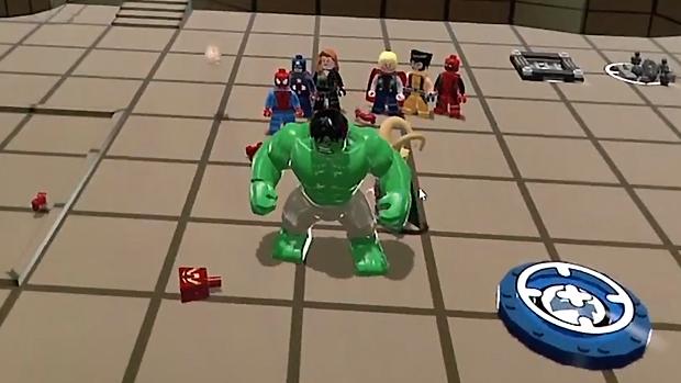 Hulk é o maior personagem da série de jogos LEGO (Foto: Divulgação