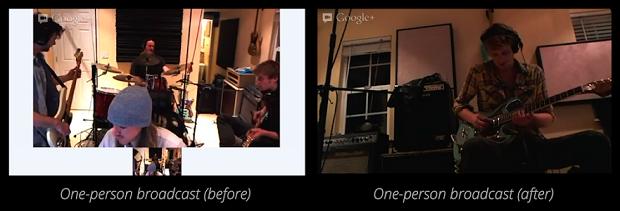 Nova visualização do Google+ permite tela cheia em hangouts (Foto: Reprodução The Verge)