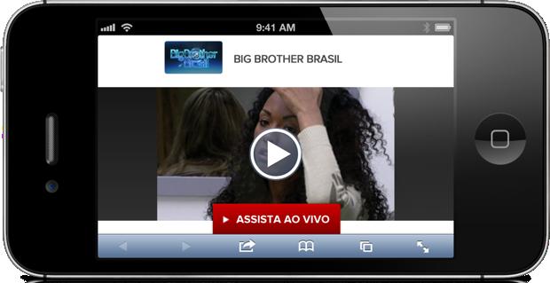 Vídeos do Big Brother Brasil no Globo.TV podem ser acessados via smartphones e tablets (Foto: Reprodução/Willian Max) (Foto: Vídeos do Big Brother Brasil no Globo.TV podem ser acessados via smartphones e tablets (Foto: Reprodução/Willian Max))
