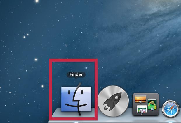 Abrindo o Finder no Mac (Foto: Reprodução/Edivaldo Brito)
