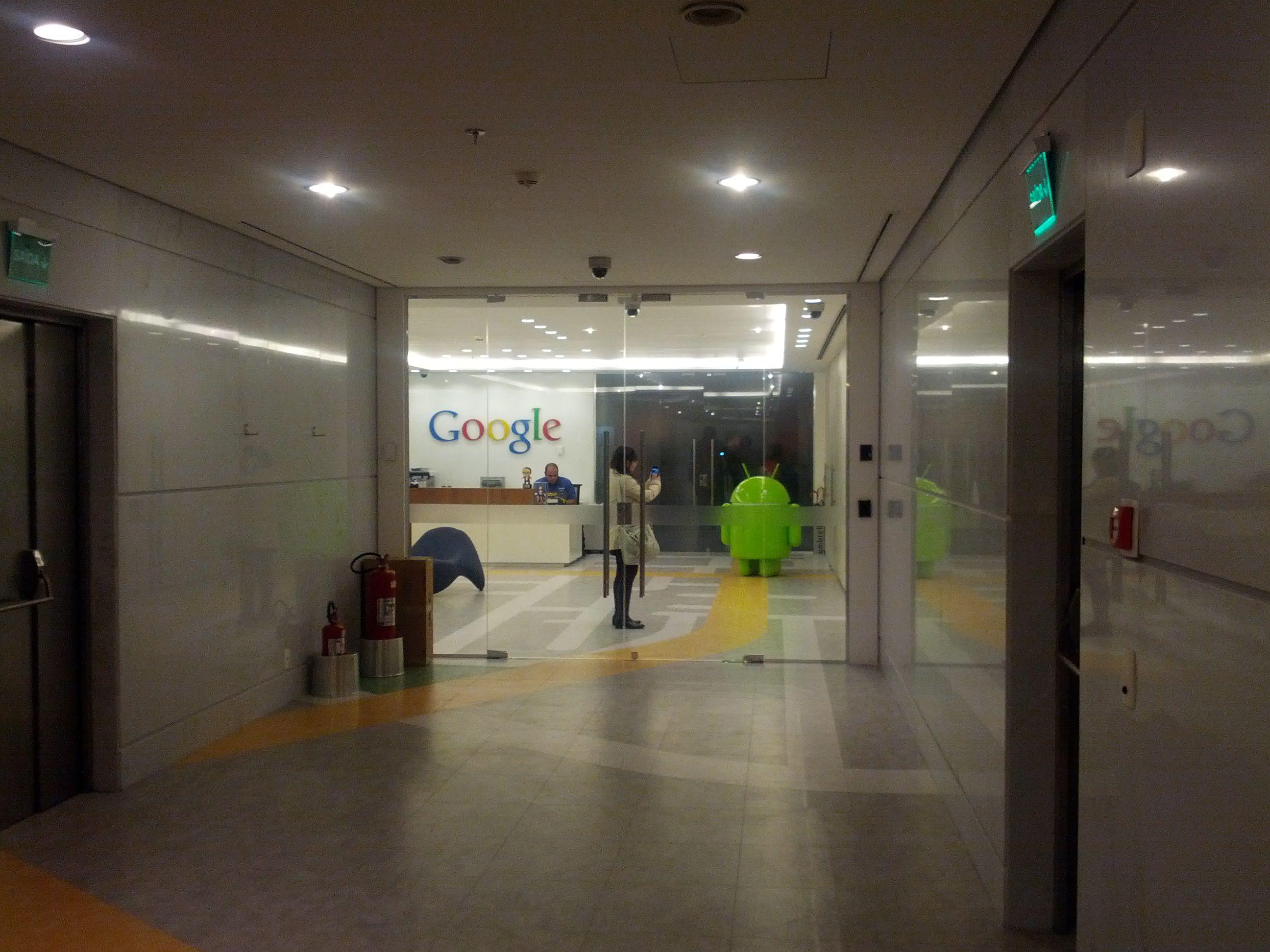 Entrada da nova sede do Google Brasil (Foto: Foto: Renê Fraga)