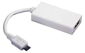 Conecte seu gadget a TV usando um adaptador HDMI (Foto: Divulgação)