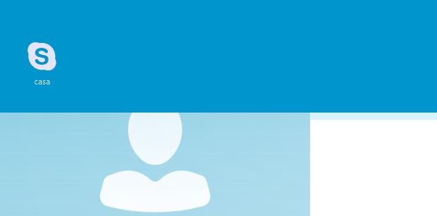 Acessando tela inicial do Skype (Foto: Reprodução/Helito Bijora)