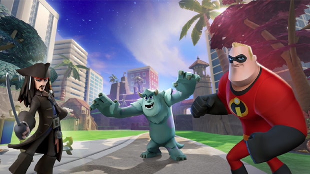Jack Sparrow, Sulley e Sr. Incrível se unem em Disney Infinity (Foto: Games and Gadgets Geek)