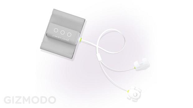 HelloTouch tem formato semelhante ao do iPod (Foto: Reprodução/Gizmodo)