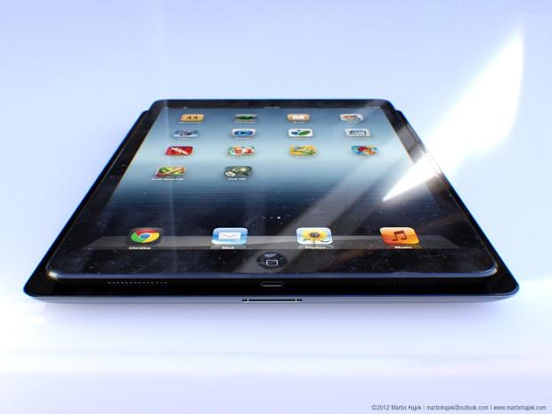 iPad 5 feito por artista tem design inspirado no iPad Mini (Foto: Reprodução/9to5Mac)