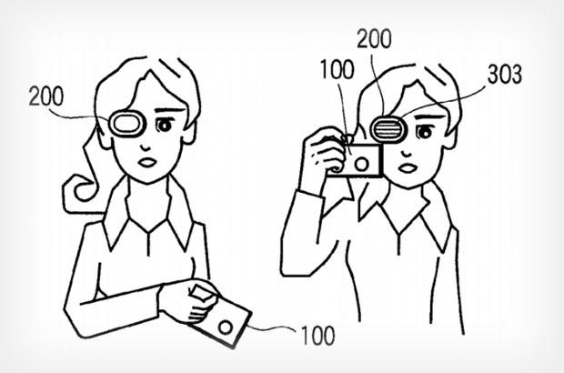 Patente da Olympus mostra viewfinder bem diferente (Foto: Reprodução -  PetaPixel)