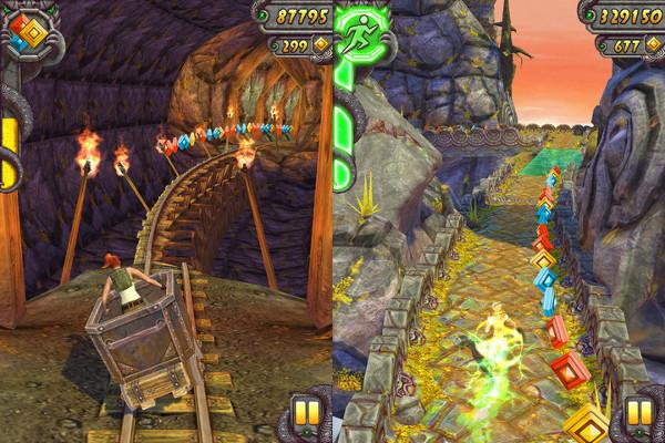 Temple Run 2, novos gráficos e diversão gratuita (Foto: Divulgação)