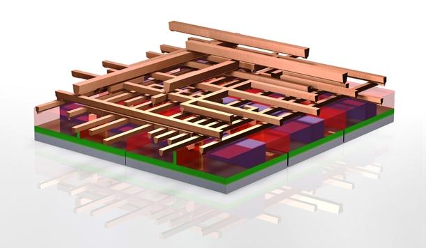 Figura 4: Interconexões de seis transistores