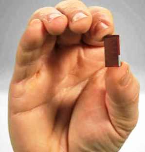 Figura 6: um chip de 22 nm, tamanho real