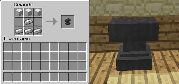 minecraft-bigorna-receita-modelo