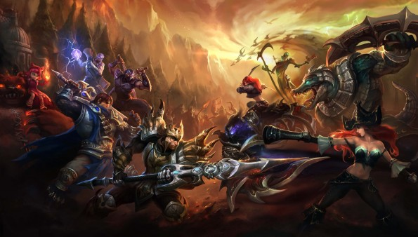 League of Legends (Foto: leagueoflegendswallpapers.com)