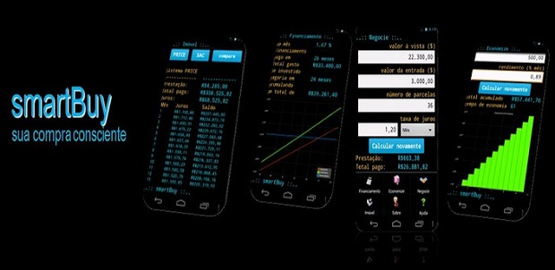 SmartBuy pode ser usado para calcular suas finanças (Foto: Divulgação)