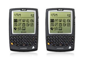 O primeiro BlackBerry, 857 e 957 (Foto Divulgação)