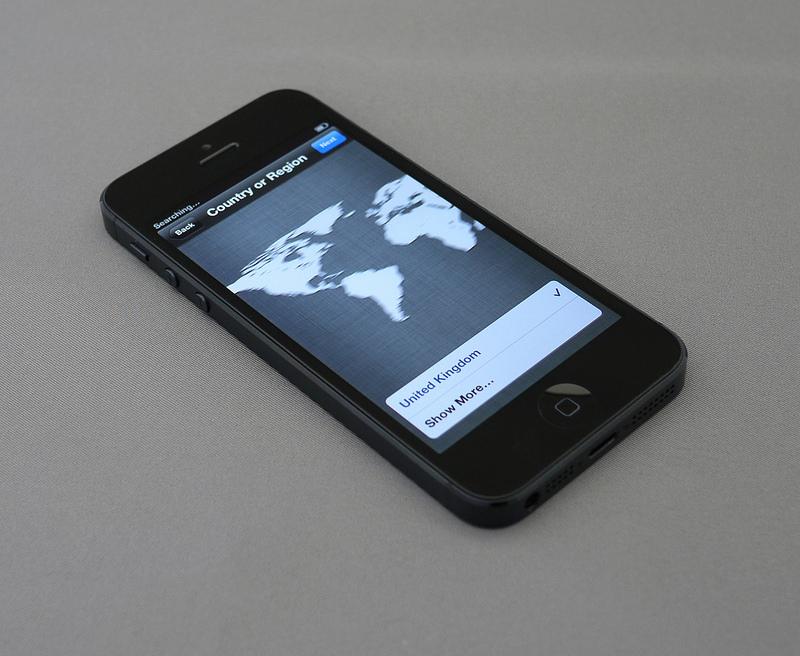 Um iPhone maior do que o modelo 5, que tem tela de 4 polegadas, pode ser lançado (Brett Jordan|Flickr|Creative Commons)