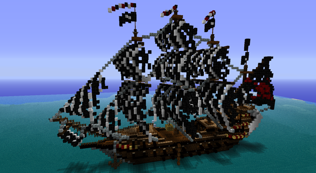 minecraft-construcao-navio-minecraftoraora (Foto: minecraft-construcao-navio-minecraftoraora)